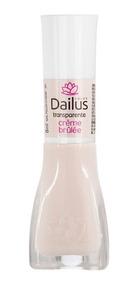 Esmalte Transparente Crème Brûlée 8ml Dailus Color