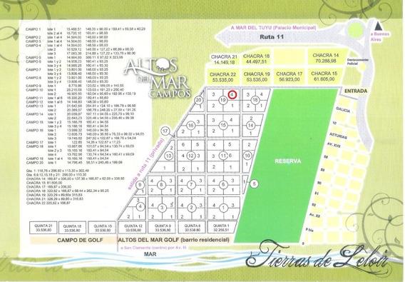 Lote 4 Campo 19 En San Clemente Del Tuyu De 15.165,16 Ms2