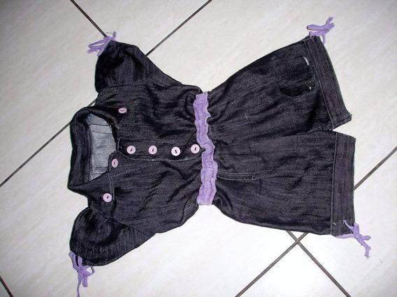 Macacão Infantil 1/2 Anos Semi Novo S/ Strech S14