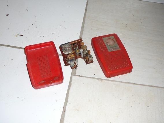 2 Carcaças De Rádio Antigas Década De 50