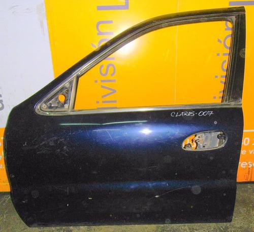 Puerta Delantera Izquierda Kia Clarus Año 1995 A 1998