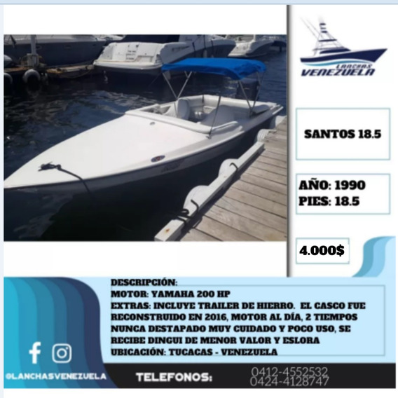 Lancha Santos 18.5 Lv425