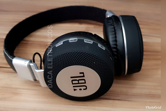 Fone Bluetooth Headfone Jbl Estéreo Sem Fio Cartão Ms K3 Jbl