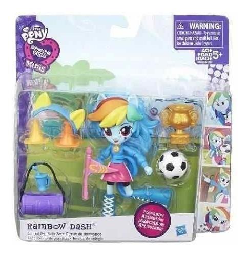 My Little Pony Mini Boneca Bola Troféu Futebol Hasbro