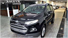 Ford Ecosport Se 1.6 0km Full Entrega Inmediata Amaya Garage