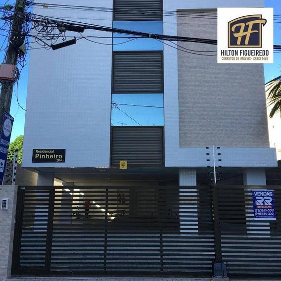 Apartamento Com 02 Quartos Sendo 1 St, Novinho, Pronto Para Morar - Ap5929