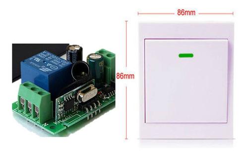 Interruptor Inalambrico Rf 110v-220v Ac