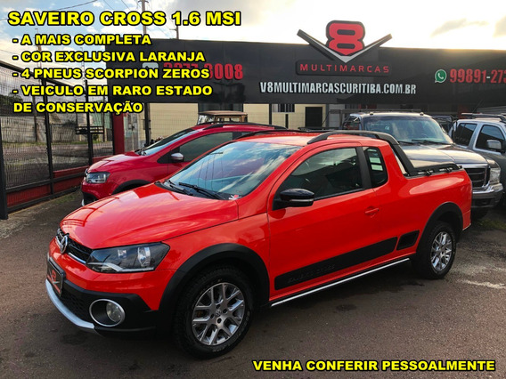 Vw Saveiro Cross 1.6 Msi Cor Exclusiva (surf Trooper Hornet)