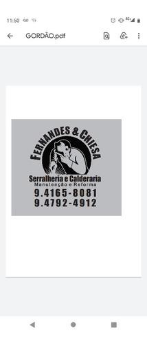 Imagem 1 de 5 de Serralheria & Caldeiraria . Manutenção E Reparo