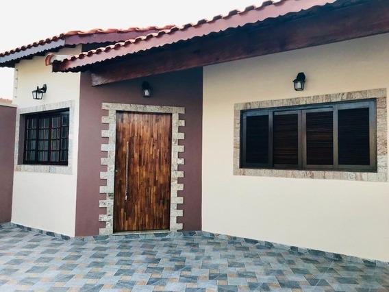 Casa Nova Em Itanhaém - 1957 - 34112616