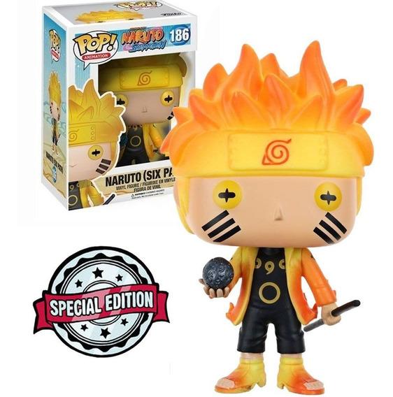Boneco Funko Pop Naruto Shippuden Exclusive - Naruto 186