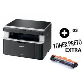 Multifuncional Brother Dcp 1602 + 03 Cartucho Toner