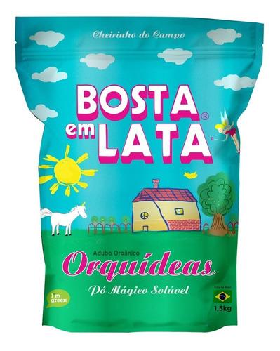 Fertilizante Orgânico Bosta Em Lata Orquídeas Zip - 1,5 Kg