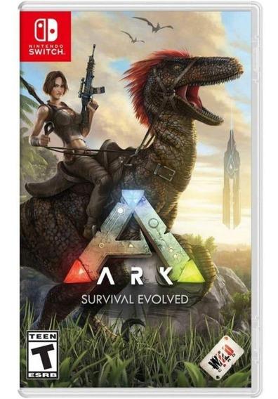 Ark Survival Evolved Switch Mídia Física Novo