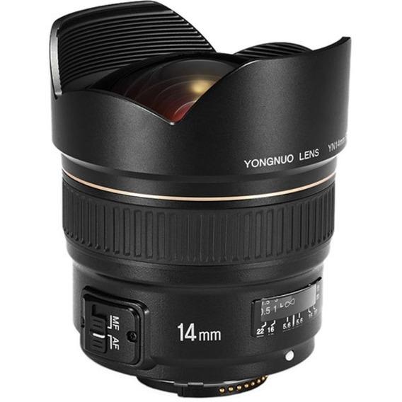 Lente Yongnuo Yn 14mm F/2.8 Nikon Foco Automático