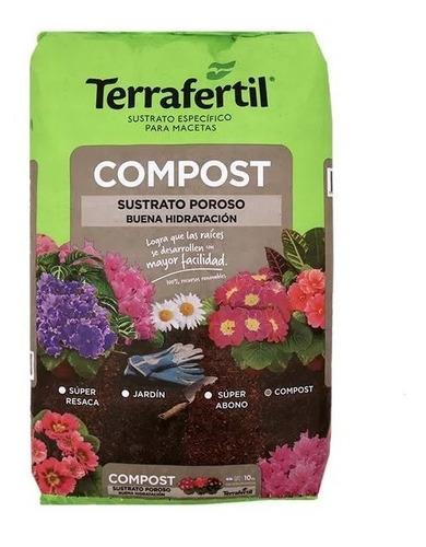 Sustrato Compost Orgánico 10lt Terrafertil