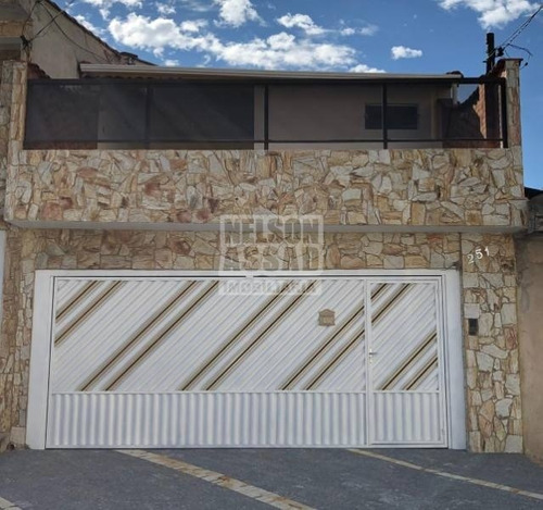 Imagem 1 de 26 de Sobrado Para Venda No Bairro Jardim Piqueroby, 3 Dorm, 1 Suíte, 2 Vagas, 12 M, 87 M - 2136