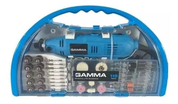 Minitorno Gamma 130 W + 119 Accesorios Mini Torno G19501ac
