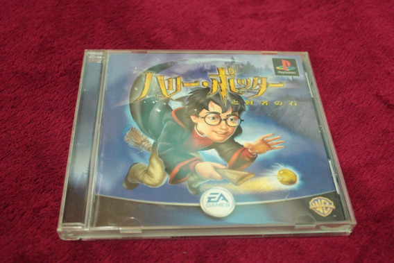 Harry Potter E A Pedra Filosofal Original Playstation Ps1