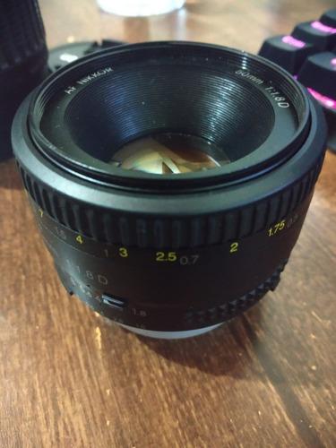 Lente Nikon 50mm F/1.8d Af Original Nikkor