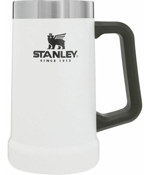 Stanley Chopp Cerveza Beer Stein 709cc Blanco
