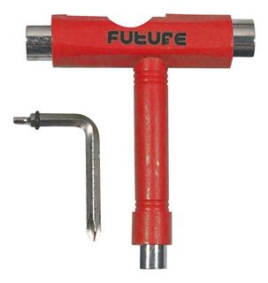 Chave T-tool Future Vermelha Ou Preta