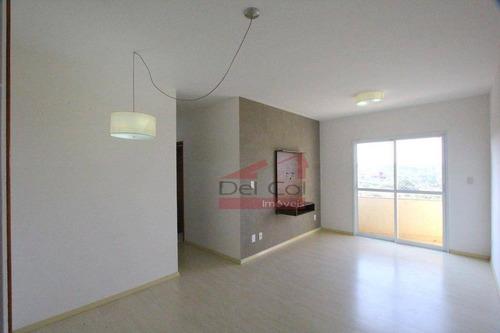Apartamento Com 3 Dormitórios À Venda, 78 M² Por R$ 390.000,00 - Jardins De Bragança - Bragança Paulista/sp - Ap0111