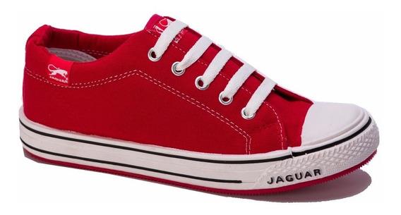 Zapatilla De Lona Hombre Mujer Jaguar Art 320 34 Al 45