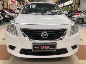 Nissan Versa S 1.6 16v Flex Fuel 4p Mec Branco