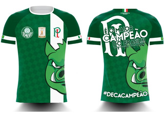 Camisa Deca Campeão Brasileiro 2018 - Ref 722