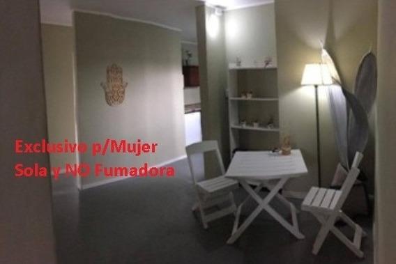 Habitación Pequeña P/ Mujer Sola No Fumadora. Edif. Familiar