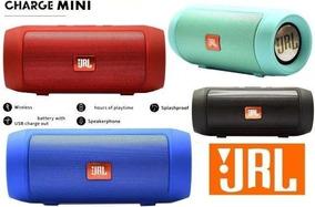 Caixinha Caixa De Som Bluetooth Áudio Jrl Charge 2 Mini 15w