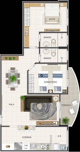 Imagem 1 de 2 de Apartamento - Venda - Caiçara - Praia Grande - Lit116