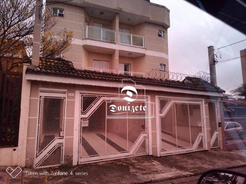 Apartamento Com 2 Dormitórios À Venda, 67 M² Por R$ 380.000,00 - Jardim Bela Vista - Santo André/sp - Ap0635