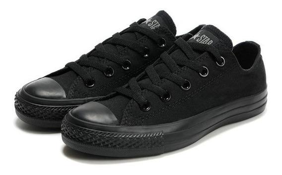 Zapatos Convers Chuck Taylor All Star Black Unisex