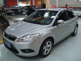 Ford Focus Glx 1.6 Flex 2013 Prata (completo + Multimídea)