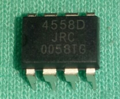 Kit 10 Ci Jrc 4558d Jrc4558 C3 Original Novo
