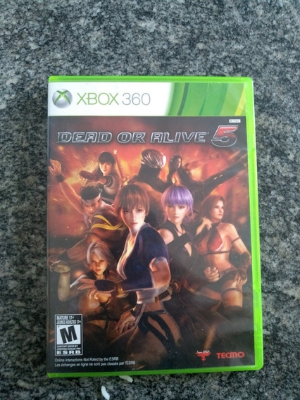 Dead Or Alive 5 - Xbox 360 Original Em Mídia Fisica