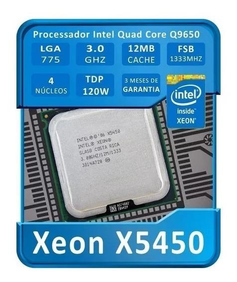Intel Xeon X5450 3.0 Ghz Adaptado Lga775 = Q9650