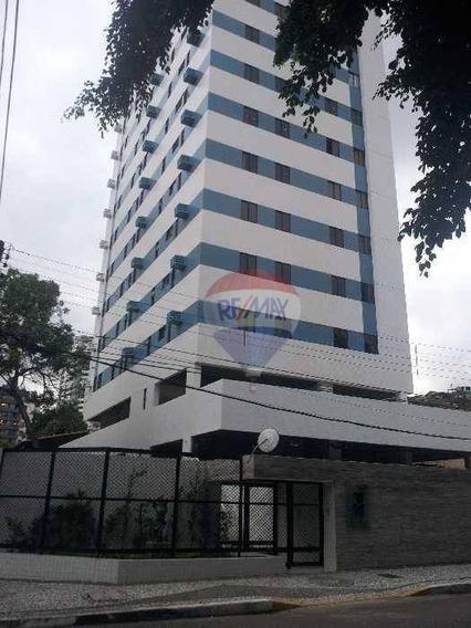 Flat Com 1 Dormitório Para Alugar, 44 M² Por R$ 1.600,00/mês - Casa Forte - Recife/pe - Fl0039