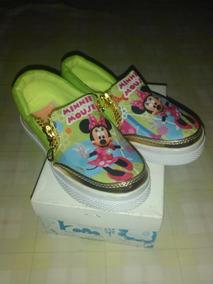 7a7bce5dd0b Zapatos Para Niña Minnie Talla 27. Bs. 160.000