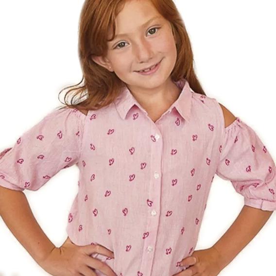 Witty Girls Blusa Lucy Camisa Rosa Ropa Original Niñas Edu