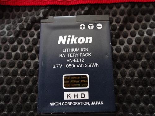 Imagen 1 de 3 de Bateria Nikon Original  En-el12 3.7v 1050 Mah 3.9wh