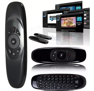 Air Mouse + Teclado Inalámbrico Giroscopio Tv Box Pc Android