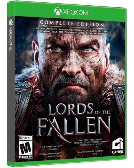 Lords Of The Fallen Complete Edition - Midia Fisica Xbox One