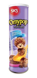 Omypop Pipoca Em Lata - Belgian Darkcoco Chocolate Belga 85g