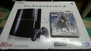 Sony Play Station 3 Fat 80gb Cechl11 Nuevo + Destiny