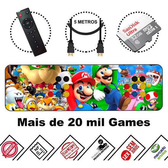 Fliperama Portátil Pro 12950 Jogos + Multimídia ! + Barato !
