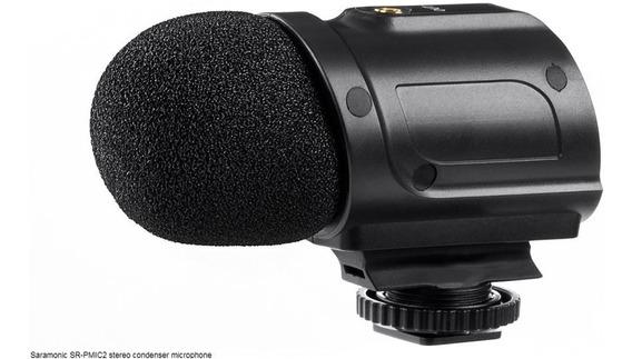Microfone Condensador Para Dslr Sr-pmic2 - Saramonic