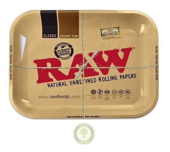 Bandeja De Armado Rolling Tray Medium / Raw